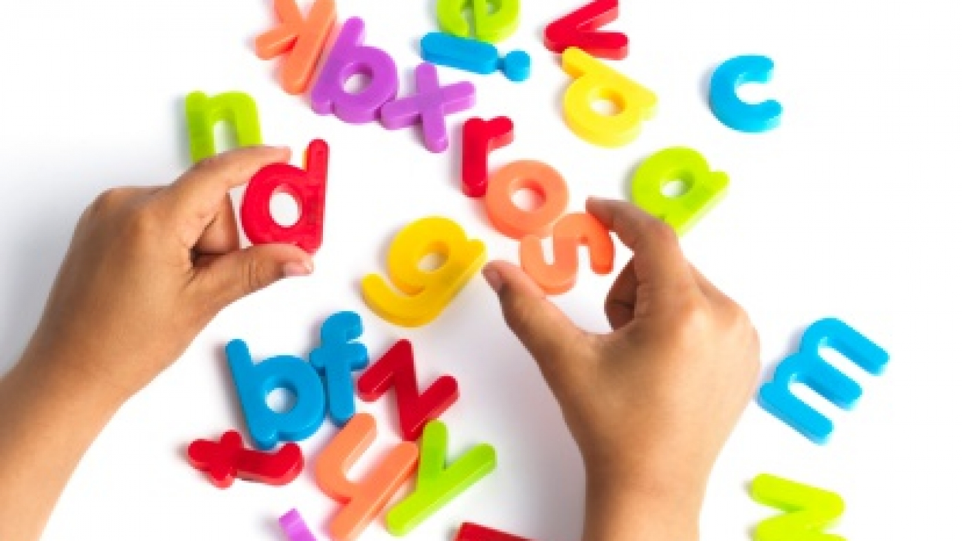 Dyslexia, conceptual image